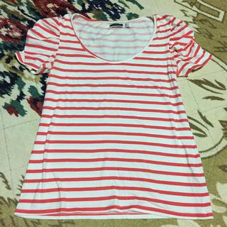 ザラ(ZARA)のZARAのボーダーTシャツ(Tシャツ(半袖/袖なし))