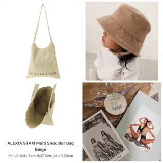 ALEXIA STAM - トートバッグ&BABYハットMサイズ