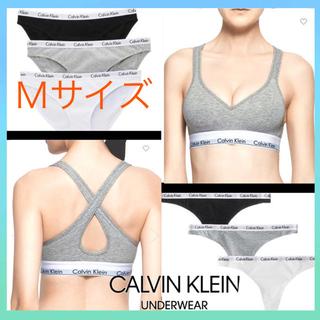 Calvin Klein - 【新品未使用】04 M  カルバンクライン ブラトップ ブラレット  グレー