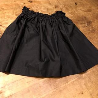 ザラ(ZARA)のZARA ブラック スカート(ひざ丈スカート)