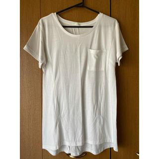 ジーユー(GU)の【GU】シンプル半袖チュニック Sサイズ(Tシャツ(半袖/袖なし))