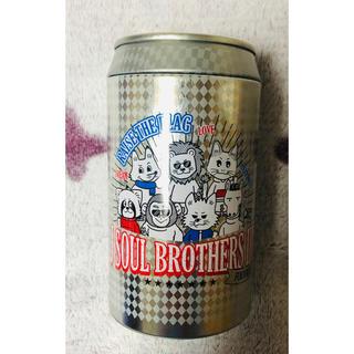 サンダイメジェイソウルブラザーズ(三代目 J Soul Brothers)の3JSB  ちょっこりさん 福岡会場限定缶(ミュージシャン)