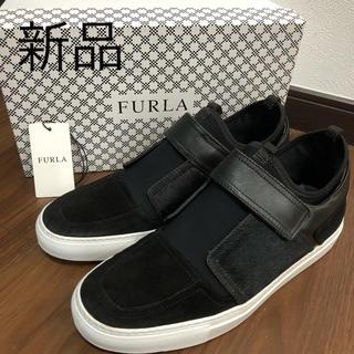 フルラ(Furla)の新品 フルラ FURLA レザー スニーカー 定価63800円 靴(スニーカー)