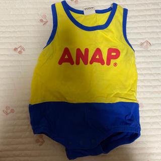 アナップキッズ(ANAP Kids)のアナップ ロンパース 60(カバーオール)