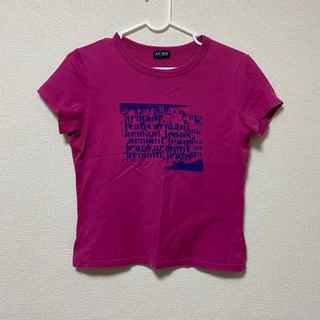 アルマーニジーンズ(ARMANI JEANS)のトップス 半袖 Tシャツ ロゴ(Tシャツ(半袖/袖なし))