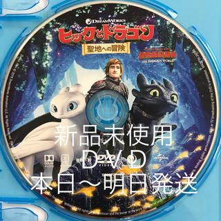 新品未使用『ヒックとドラゴン 聖地への冒険』DVD&クリアケース(アニメ)