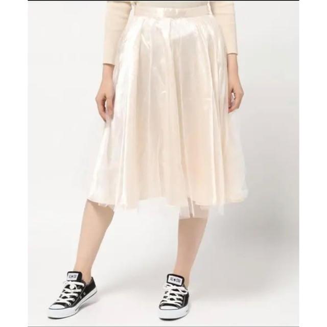WEGO(ウィゴー)の女子力UP↑♡大人気♡旬コーデに甘さをプラス♡♡【WEGO/ラメ入りスカート】 レディースのスカート(ひざ丈スカート)の商品写真
