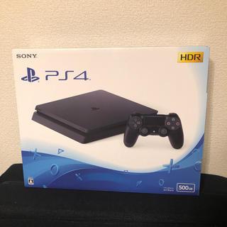 プレイステーション4(PlayStation4)の【美品】PS4 本体 (家庭用ゲーム機本体)