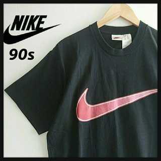 ナイキ(NIKE)の932 NIKE 90年代製白タグ デカロゴ Tシャツ ビッグシルエット(Tシャツ/カットソー(半袖/袖なし))