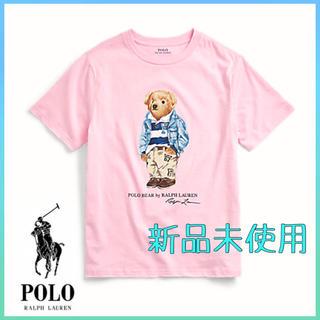 POLO RALPH LAUREN - 【新品未使用】01  ポロ ラルフローレン Tシャツポロベア ピンク Sサイズ