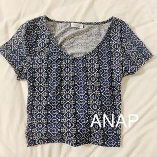 アナップラティーナ(ANAP Latina)のANAP 柄トップス (カットソー(半袖/袖なし))