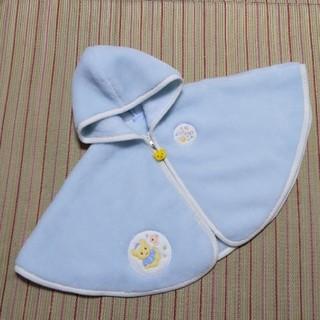 mikihouse - 美品 ミキハウスファースト ポンチョ70〜90cm