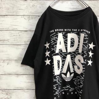 アディダス(adidas)の【メキシコ製】adidas トレフォイルロゴ ビッグロゴ Tシャツ(Tシャツ/カットソー(半袖/袖なし))
