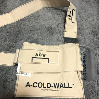 シュプリーム(Supreme)の新品 A-Cold Wall ア コールドウォール サコッシュ ショルダーバッグ(ショルダーバッグ)