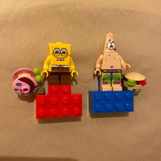 レゴ(Lego)のLEGO レゴ ミニフィグ スポンジボブ(キャラクターグッズ)
