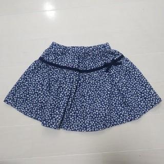 familiar - familiar 小花柄スカート100