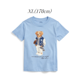 ラルフローレン(Ralph Lauren)のRalph Lauren フットボール ベア Tシャツ ボーイズXL 170(Tシャツ/カットソー)