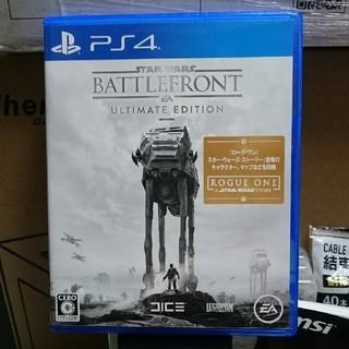 プレイステーション4(PlayStation4)のPS4 バトルフロント ultimate edition(家庭用ゲームソフト)