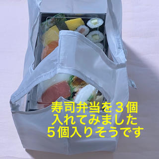 エコバッグ 小さいサイズ レジ袋 買い物袋 マチ付 レジバッグ 折りたたみ(エコバッグ)
