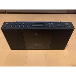 ソニー(SONY)の【美品】SONY  CD ラジオプレーヤー ソニー ZS-E30(ポータブルプレーヤー)