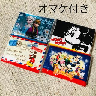 ディズニー(Disney)のポケットティッシュ ディズニー アナ ミッキー ダンボ シール ファイル(キャラクターグッズ)