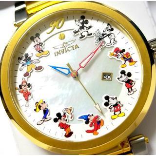 インビクタ(INVICTA)の定価11.4万円 INVICTA インビクタ ミッキー ヘリテージ ゴールド(腕時計(アナログ))