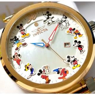 インビクタ(INVICTA)の定価11.4万円 インビクタ ミッキー ヘリテージ ローズゴールド 限定!(腕時計(アナログ))