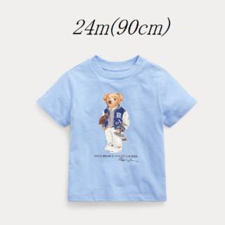 ラルフローレン(Ralph Lauren)のRalph Lauren フットボール ベア コットン Tシャツ 24m(Tシャツ/カットソー)