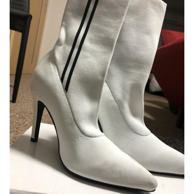 GYDA(ジェイダ)のGYDA ショートソックスブーツ レディースの靴/シューズ(ブーツ)の商品写真