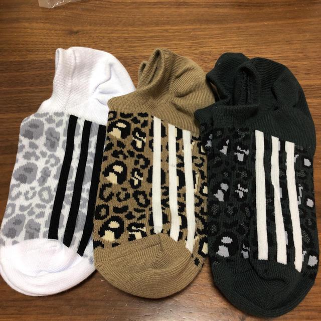adidas(アディダス)の☆新品 adidas ソックス レディースのレッグウェア(ソックス)の商品写真