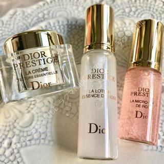 Dior - 【9,937円分】プレステージ ユイルドローズ ラローション ラクレーム