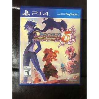 プレイステーション4(PlayStation4)のディスガイア5(DISGAEA5)北米版 海外版 輸入版(家庭用ゲームソフト)