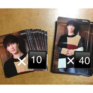 Johnny's - SnowMan 渡辺翔太 厚紙カードセット