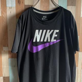 ナイキ(NIKE)のNIKE ビッグロゴ スウッシュ プリントTシャツ(Tシャツ/カットソー(半袖/袖なし))