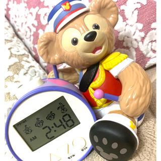 ディズニー(Disney)のダッフィー 目覚まし時計(キャラクターグッズ)