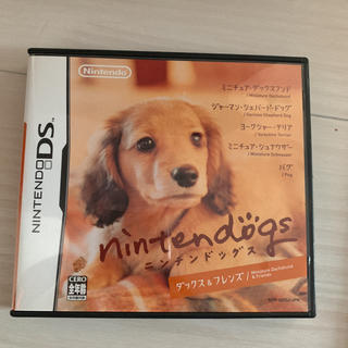ニンテンドーDS(ニンテンドーDS)のnintendogs ダックス&フレンズ(家庭用ゲームソフト)