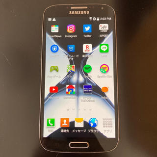 Galaxy - Galaxy S4 32GB YouTube、ゲーム、LINEなど使えます