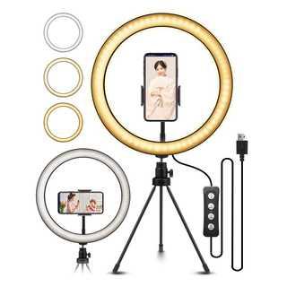 LEDリングライト 自撮りライト ビデオカメラ撮影(その他)