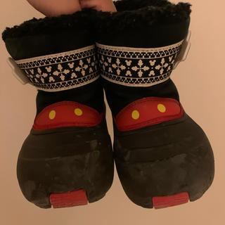 ディズニー(Disney)のミッキーのモコモコブーツ(ブーツ)