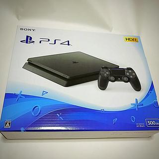 プレイステーション4(PlayStation4)のプレステ4 本体 500GB   新品未開封(家庭用ゲーム機本体)