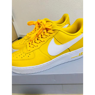 NIKE - air force 1 low yellow
