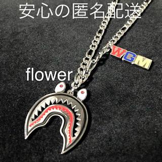WGM シルバー ネックレス シャーク サメ (ネックレス)