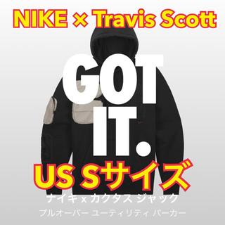 カクタス(CACTUS)のNIKE×Travis Scott Utility Hoodie Sサイズ(パーカー)