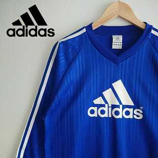 アディダス(adidas)の810 adidas アディダス デカロゴ ゲームシャツ V首 3本ライン(Tシャツ/カットソー(七分/長袖))