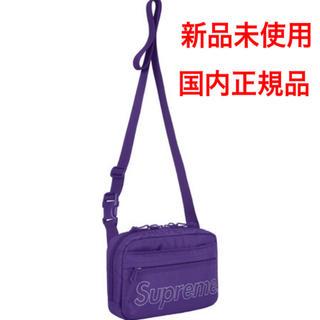 シュプリーム(Supreme)の【新品未使用】supreme 18fw shoulder bag purple(ショルダーバッグ)