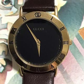 グッチ(Gucci)のGUCCI 3000M  メンズ 腕時計(腕時計(アナログ))