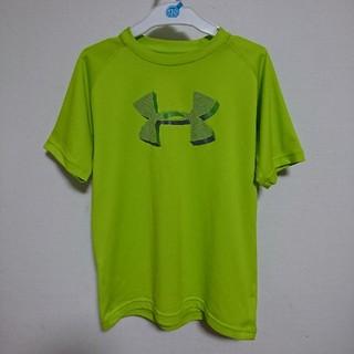 アンダーアーマー(UNDER ARMOUR)のキッズ アンダーアーマー イエローグリーン Tシャツ (Tシャツ/カットソー)