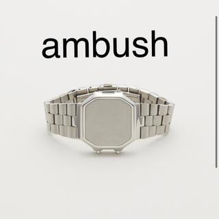 アンブッシュ(AMBUSH)のambush ブレスレット 時計型(ブレスレット)