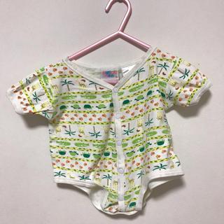 コンビミニ(Combi mini)のセール 肌着 新生児 アニマル 半袖 50 60 70 ロンパース(肌着/下着)
