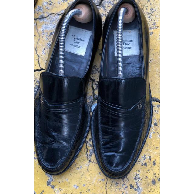Christian Dior(クリスチャンディオール)の【2000off】【送料込み】dior/23.5〜24/ローファー レディースの靴/シューズ(ローファー/革靴)の商品写真